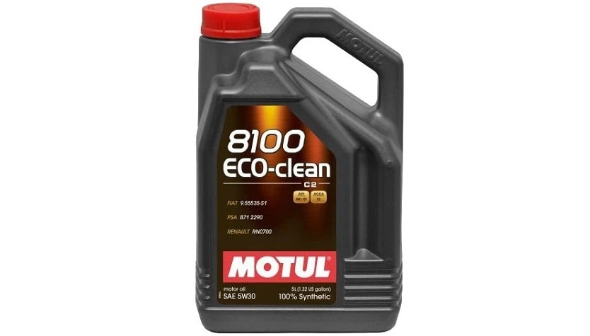 Motul 8100 Eco clean 5W30 - Тест моторных масел 5w30 за рулем