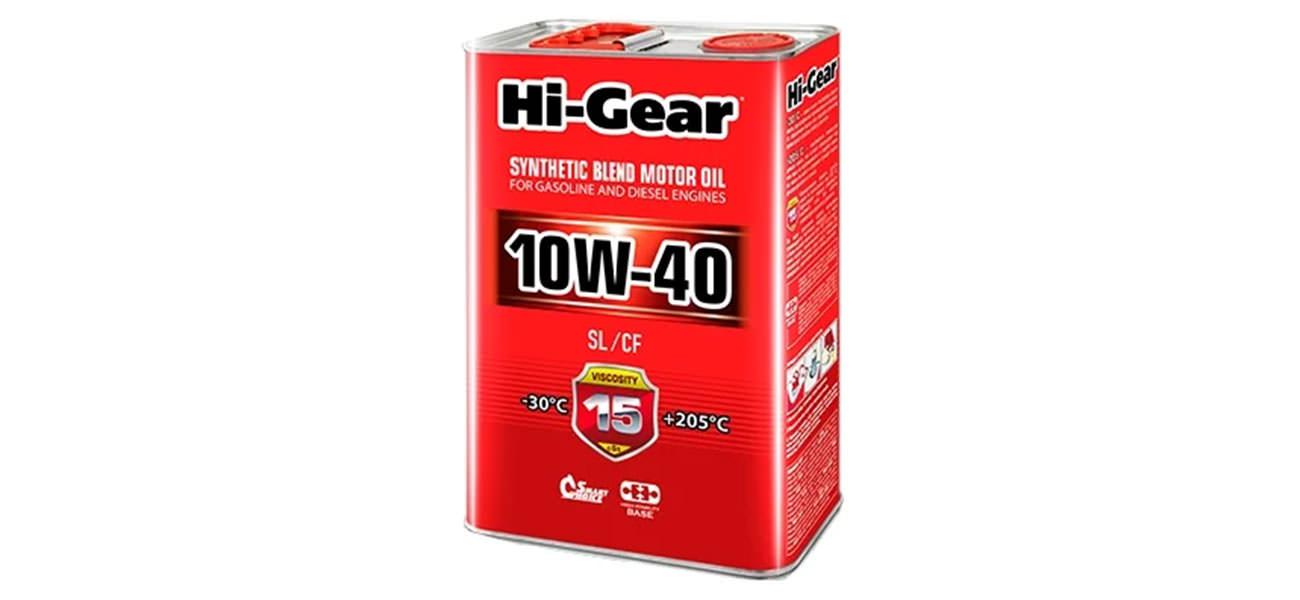 Hi-Gear 10W-40 SL/CF