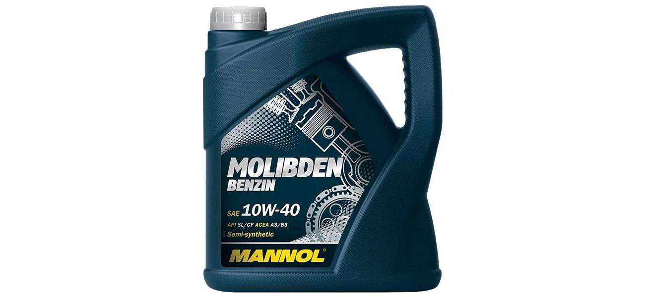 Mannol Molibden Benzin 10W-40