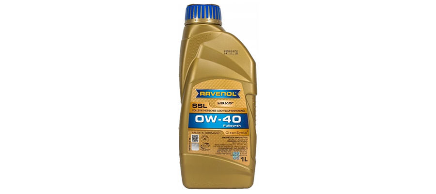 Ravenol Super Synthetik Öl SSL SAE 0W-40