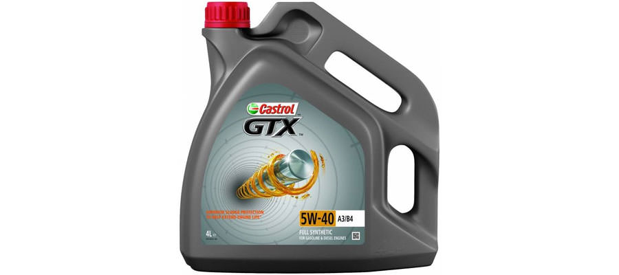CASTROL GTX 5W-40 A3 B4