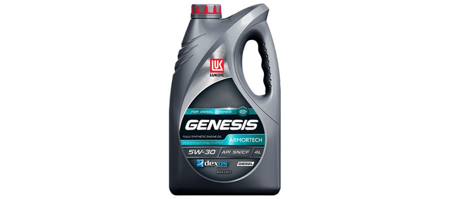 ЛУКОЙЛ Genesis Armortech Diesel 5W-30 4 л