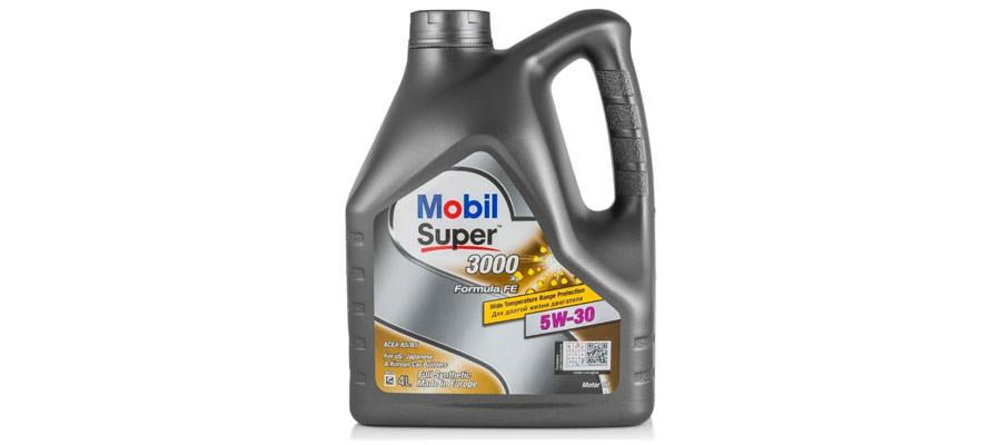 MOBIL Super 3000 X1 Formula FE 5W-30 4 л