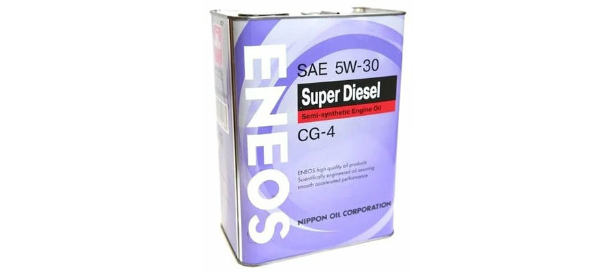 ENEOS Super Diesel CG-4 5W-30 4 л