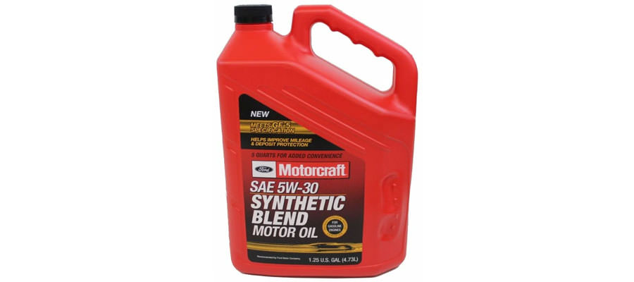 Ford Motorcraft SAE 5W-30 Synthetic Blend 4.73 л