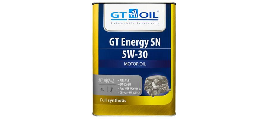 GT OIL GT Energy SN 5W-30 4 л