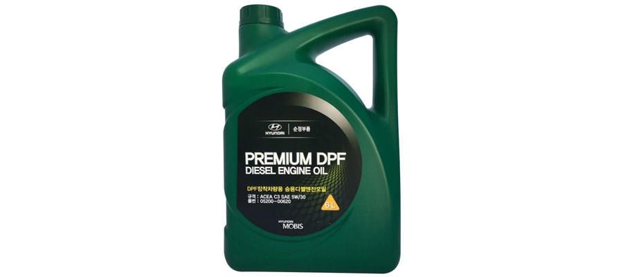 MOBIS Premium DPF Diesel 5W-30 6 л
