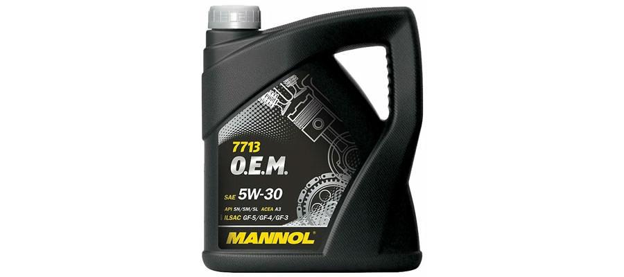 Mannol 7713 O.E.M. 5W-30 4 л